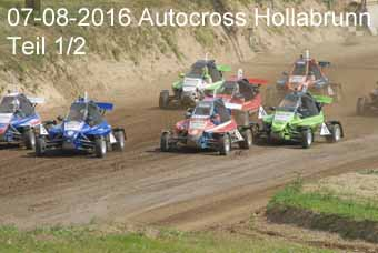 07-08-2016 Autocross Hollabrunn - 1.Teil