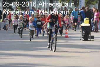 25-09-2016 Alfreds Lauf - Kinder- und Meilenlauf