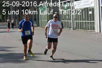 25-09-2016 Alfreds Lauf - 5 und 10km Lauf - 2.Teil