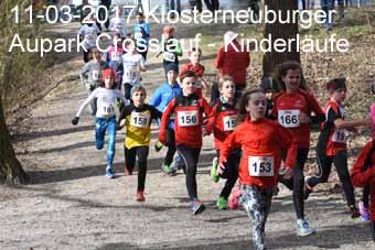 11-03-2017 Klosterneuburger Aupark Crosslauf - Kinderläufe