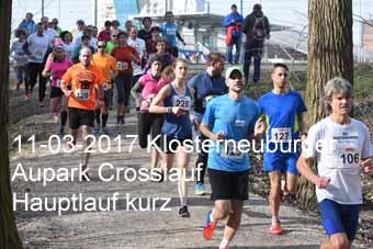 11-03-2017 Klosterneuburger Aupark Crosslauf - Hauptlauf kurz