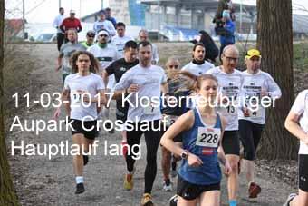 11-03-2017 Klosterneuburger Aupark Crosslauf - Hauptlauf lang