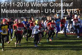 27-11-2016 Wiener Crosslaufmeisterschaften - U14 und U16
