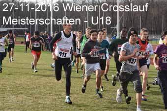 27-11-2016 Wiener Crosslaufmeisterschaften - U18