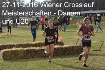 27-11-2016 Wiener Crosslaufmeisterschaften - Damen und U20