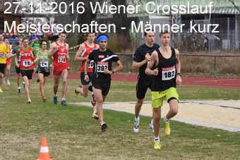 27-11-2016 Wiener Crosslaufmeisterschaften - Männer kurz