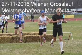 27-11-2016 Wiener Crosslaufmeisterschaften - Männer lang - 1.Teil