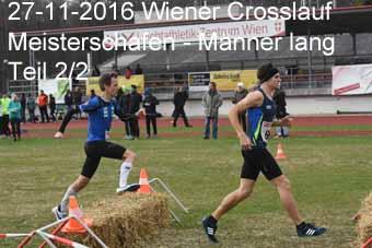 27-11-2016 Wiener Crosslaufmeisterschaften - Männer lang - 2.Teil