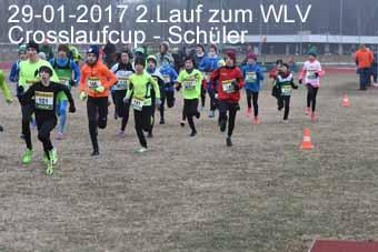 29-01-2017 2.Lauf zum WLV Crosslaufcup - Schüler