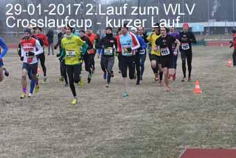 29-01-2017 2.Lauf zum WLV Crosslaufcup - kurzer Lauf