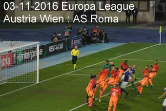 03-11-2016 Europa League - Austria Wien : AS Roma
