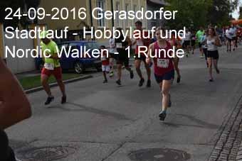 24-09-2016 Gerasdorfer Stadtlauf - Hobbylauf und Nordic Walken - 1.Runde