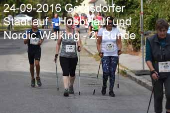 24-09-2016 Gerasdorfer Stadtlauf - Hobbylauf und Nordic Walken - 2.Runde