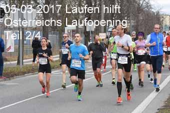 05-03-2017 Laufen hilft - Österreichs Laufopening - 2.Teil