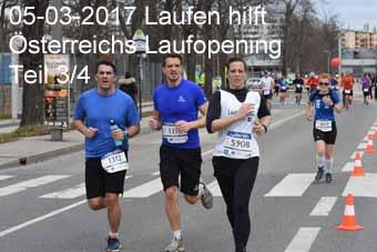 05-03-2017 Laufen hilft - Österreichs Laufopening - 3.Teil