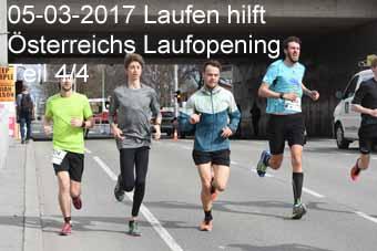 05-03-2017 Laufen hilft - Österreichs Laufopening - 4.Teil