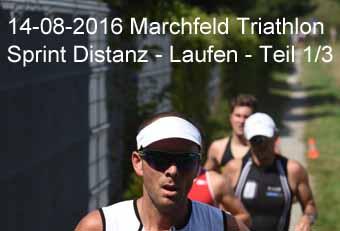 14-08-2016 Marchfeld Triathlon - Sprint Distanz - Laufen - 1.Teil