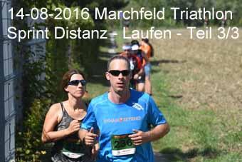 14-08-2016 Marchfeld Triathlon - Sprint Distanz - Laufen - 3.Teil
