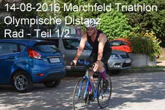 14-08-2016 Marchfeld Triathlon - Olympische Distanz - Rad - 1.Teil