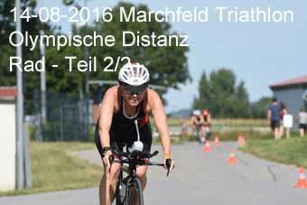 14-08-2016 Marchfeld Triathlon - Olympische Distanz - Rad - 2.Teil