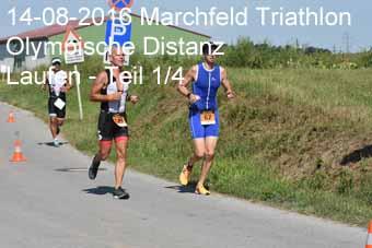 14-08-2016 Marchfeld Triathlon - Olympische Distanz - Laufen - 1.Teil