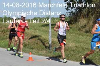 14-08-2016 Marchfeld Triathlon - Olympische Distanz - Laufen - 2.Teil