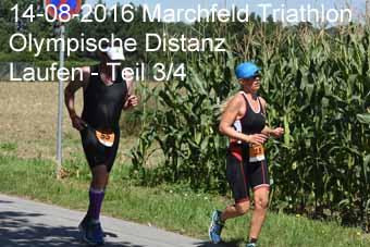 14-08-2016 Marchfeld Triathlon - Olympische Distanz - Laufen - 3.Teil