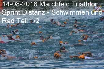 14-08-2016 Marchfeld Triathlon - Sprint Distanz - Schwimmen und Rad 1.Teil