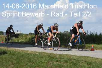 14-08-2016 Marchfeld Triathlon - Sprint Distanz - 2.Teil