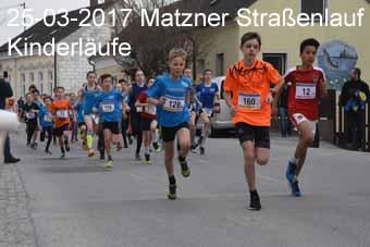 25-03-2017 Matzner Straßenlauf - Kinderläufe