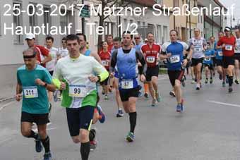 25-03-2017 Matzner Straßenlauf - Hauptlauf - 1.Teil
