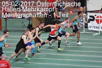 05-02-2017 Österreichische Hallen-Mehrkampf Meisterschaften - 1.Teil