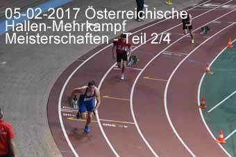 05-02-2017 Österreichische Hallen-Mehrkampf Meisterschaften - 2.Teil