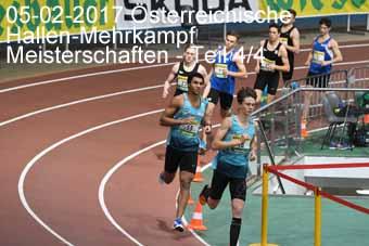 05-02-2017 Österreichische Hallen-Mehrkampf Meisterschaften - 4.Teil