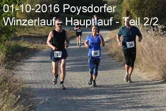 01-10-2016 Poysdorfer Winzerlauf - Hauptlauf - 2.Teil