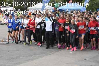 05-10-2016 Wien - Schull�ufe - Jahrgang 2004 M und Jahrgang 2003 W
