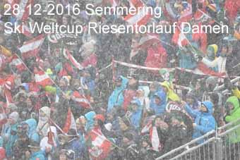 28-12-2016 Semmering - Ski Weltcup Riesentorlauf Damen