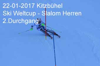 22-01-2017 Kitzbühel - Ski Weltcup Slalom Herren - 2.Durchgang