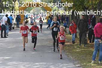 15-10-2016 Strasshofer Herbstlauf - Jugendlauf (weiblich)