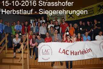 15-10-2016 Strasshofer Herbstlauf - Siegerehrungen