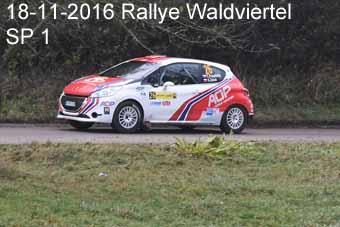 18-11-2016 Rallye Waldviertel - SP1