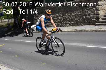 30-07-2016 Waldviertler Eisenmann - Rad - 1.Teil