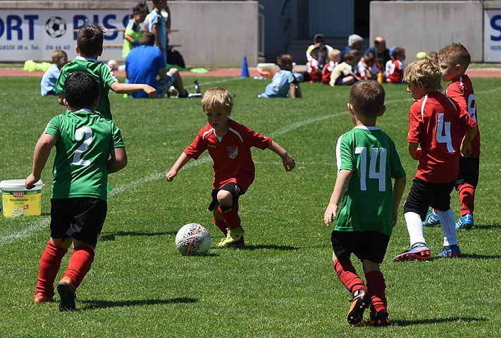 Fußball U6 Turnier Stadlau